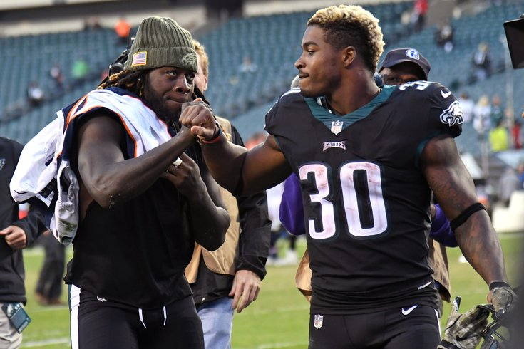 huge selection of a3db1 d8f11 Eagles' Corey Clement could be special teams go-to guy if ...