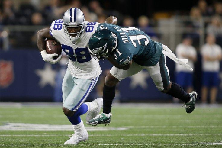 1dad490ac9a 110718_Dez-Bryant_usat Tim Heitman/USA TODAY Sports. Former Dallas Cowboys  wide receiver Dez Bryant and Philadelphia Eagles ...