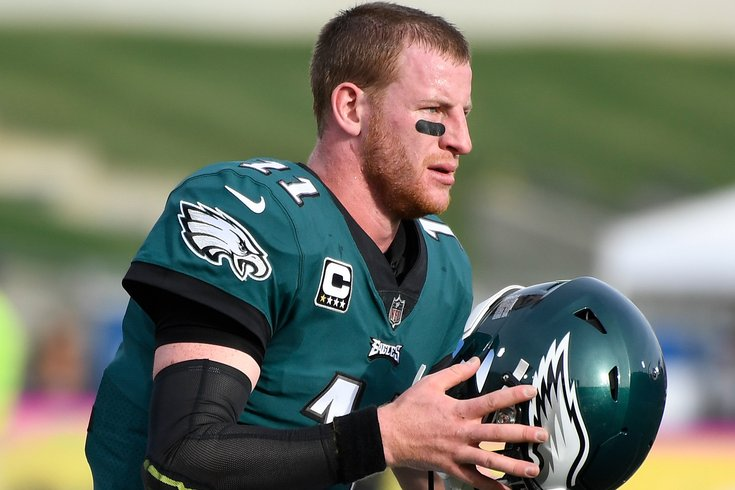 Fantasy Football Start Carson Wentz Sit Lesean Mccoy And More Week