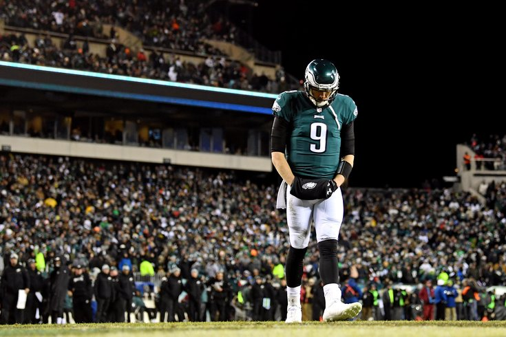 competitive price 8a734 ff1fb Two years after nearly retiring from football, Eagles QB ...