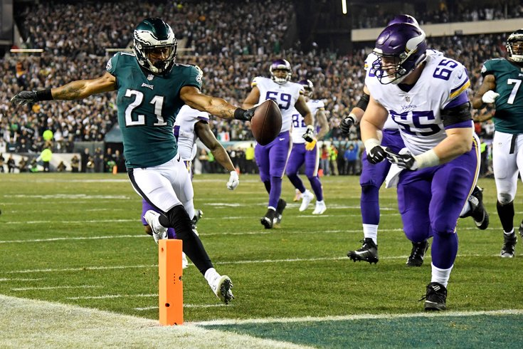 Image result for eagles vikings nfc championship