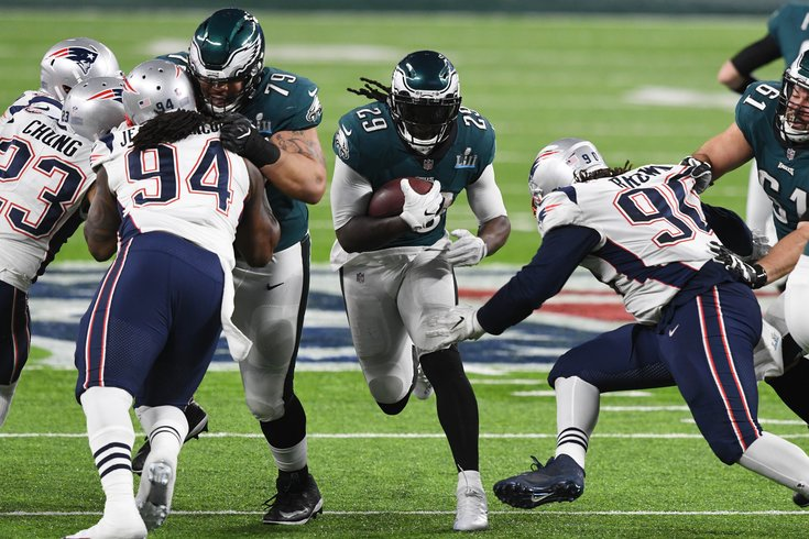 Image result for legarrette blount eagles