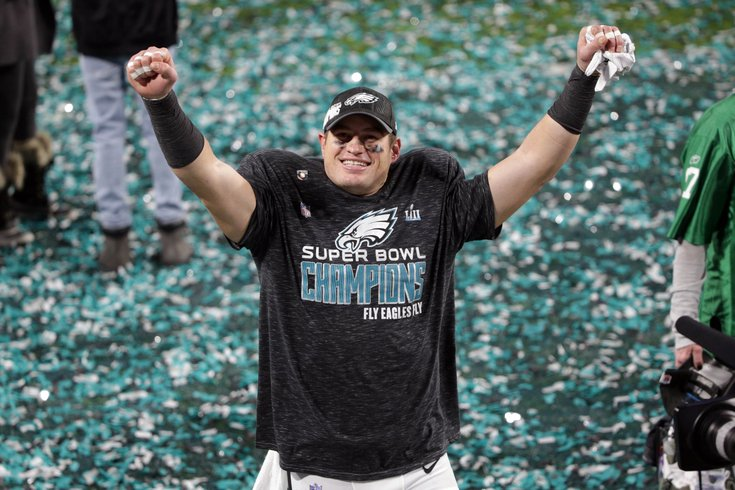 1198ff72d4b Eagles players, fans react to departure of tight end Brent Celek ...