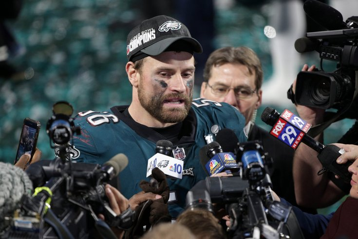 Chris Long Eagles