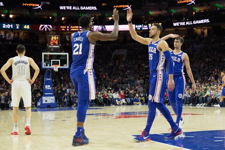 b1e0e3c9efb7 Joel Embiid says it s  bulls  t  Ben Simmons hasn t been named All ...