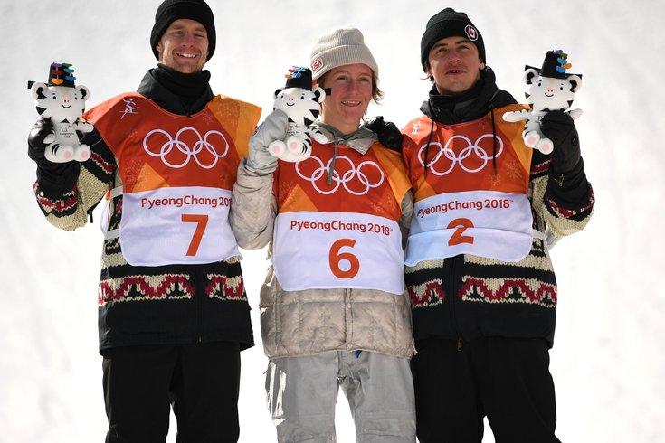 Redmond Gerard Olympics Snowboarding