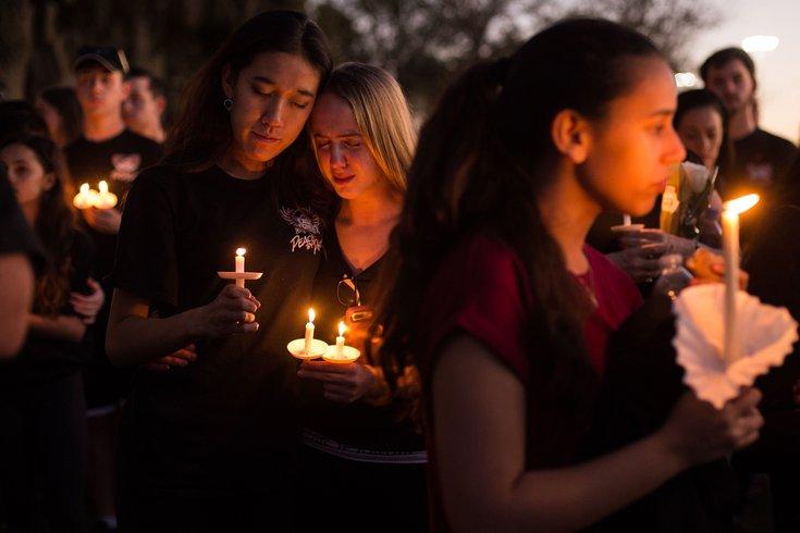 Parkland shooting vigil