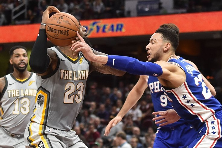 5 observations from Sixers vs. Cavs 8fc966688