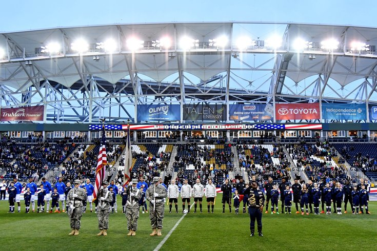 Talen Energy Stadium Union MLS