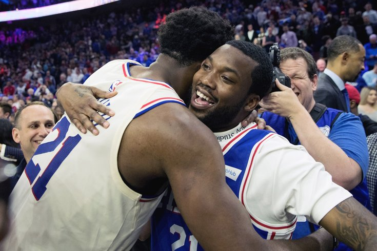 9fe77751f Sixers earn first playoff series victory since 2012 with surreal ...