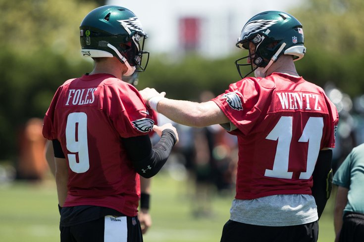 best authentic 35698 bcfe2 Nick Foles: 'I don't care' how people label me | PhillyVoice