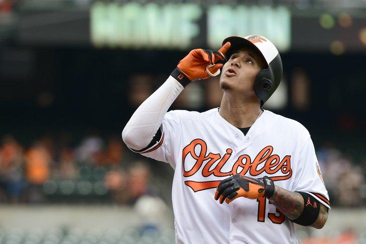 2b8ba5b6423 071618 Machado usat Tommy Gilligan USA TODAY Sports. Baltimore Orioles  shortstop Manny Machado.