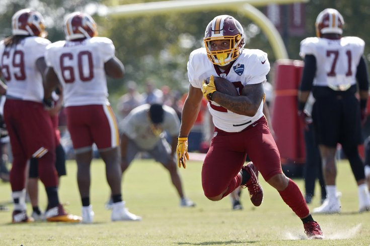 081018DerriusGuice Geoff Burke USA TODAY Sports. Derrius Guice is done for  the season with a torn ACL. Washington Redskins running back ... 37e1925ab