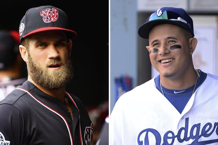 011619 Harper-Machado usat USA Today Sports File. Bryce Harper and Manny  Machado. cc3bcf089b0b