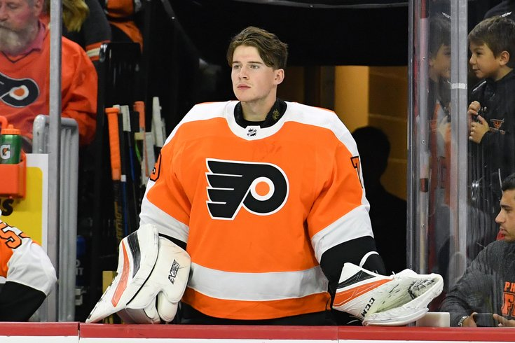 86d82616a24 Flyers pull trigger, call up goalie prospect Carter Hart | PhillyVoice