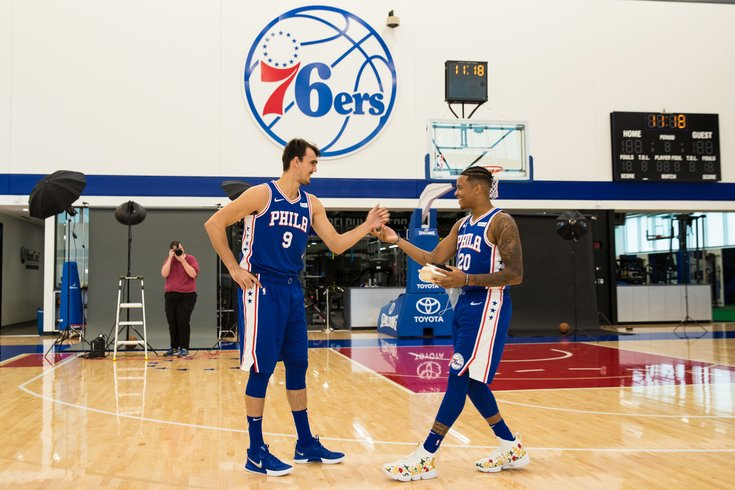 Image result for Sixers training camp