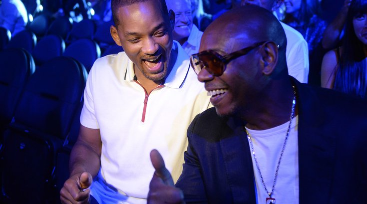 Dave Chappelle and Will Smith