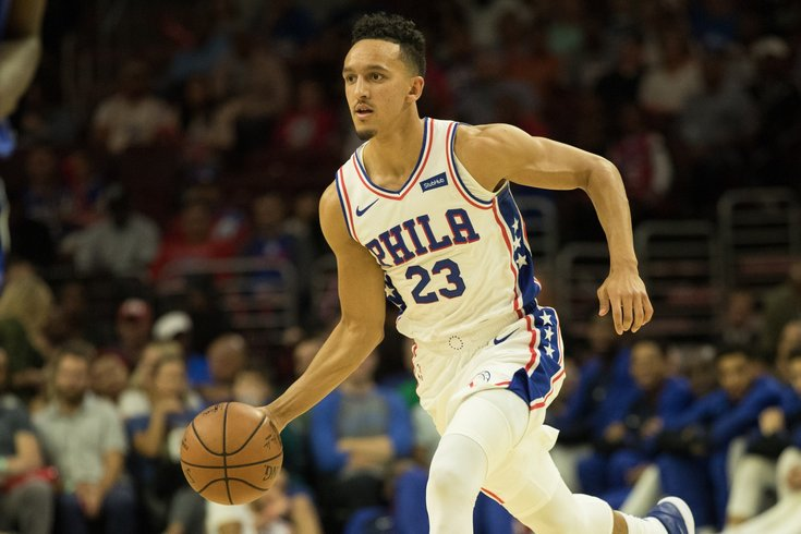 e7eeef0dd055 Rookie Landry Shamet shares heartfelt message with Philadelphia fans after  Sixers trade