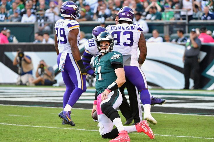 db3d388c First half observations: Vikings 17, Eagles 3 | PhillyVoice