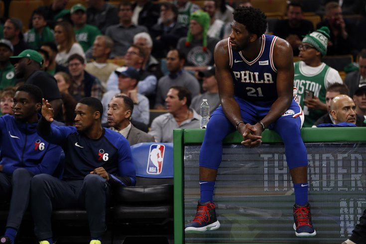 1d86ee462a2 Joel Embiid will miss Friday s game vs. Detroit for rest