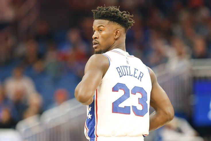 the latest 1c502 bd814 Jimmy Butler ruled out for game vs. Rockets, plus an update ...