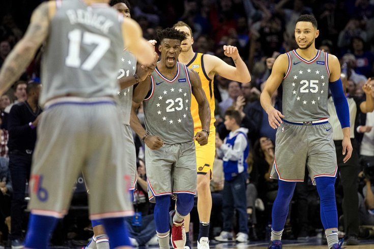 Jimmy Butler s home debut showcases everything he can offer Sixers ... 23c433392