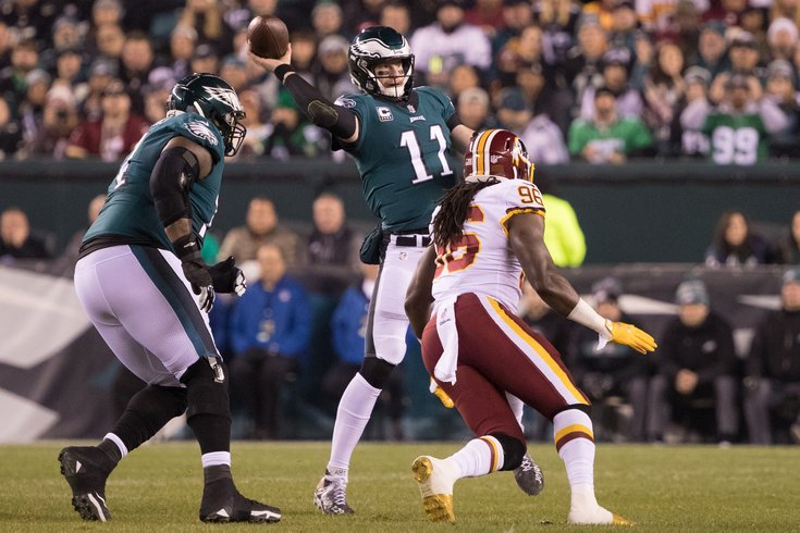 Eagles vs  Redskins: Predictions, betting odds and broadcast