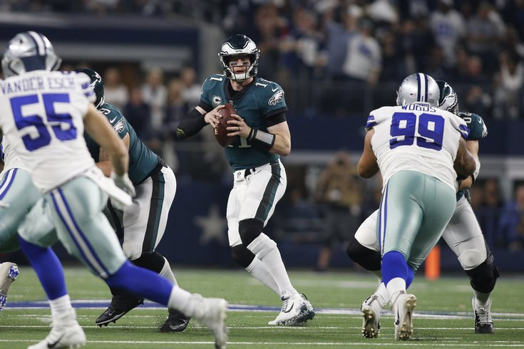 Carson Wentz Has A Back Injury Report Says He S Out Sunday Vs Rams Phillyvoice