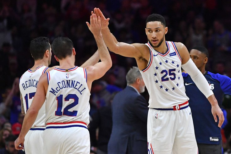 The Sixers need to stop playing Ben Simmons and T.J. McConnell ... 608a0de3b