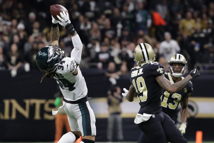the best attitude 3603c 59f39 Eagles CB Cre'Von LeBlanc signs one-year contract extension ...