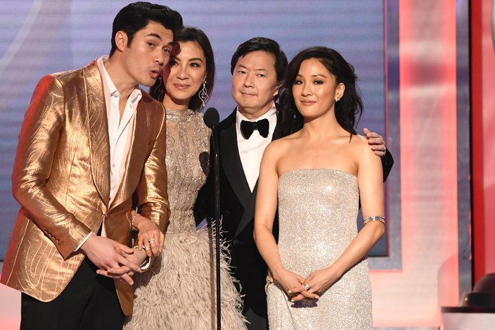 'Crazy Rich Asians' were nominated for best ensemble at the 2019 SAG Awards