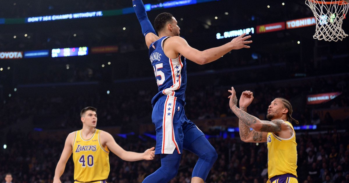 76ers Vs Lakers: Instant Observations: Sixers, Lakers