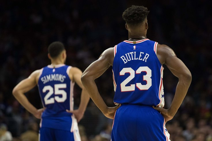 9582574f6767 Instant observations  Sixers squeak out win over Heat without Joel ...