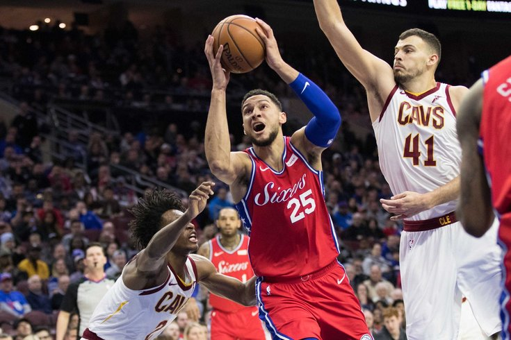 8422b2736b9 Instant observations  Sixers sneak past Cavs despite sleepy performance