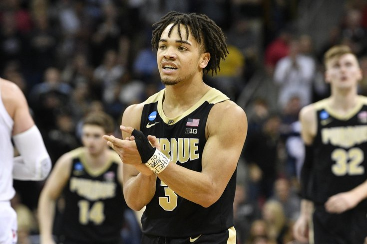 Sixers Draft Workout Notes Carsen Edwards Unfazed By Height