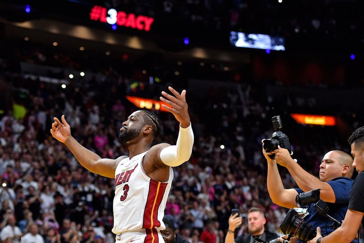 0d7f8a2ac926 Instant observations  Sixers get demolished by Heat in Dwyane Wade s home  finale