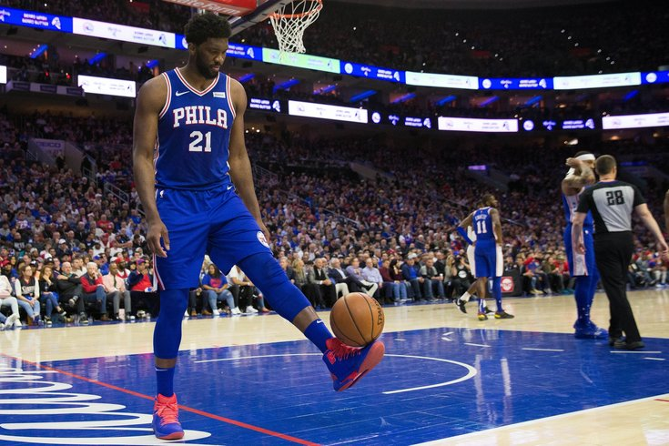 a522e2f6fe00 What they re saying  Joel Embiid should have been ejected from Game ...