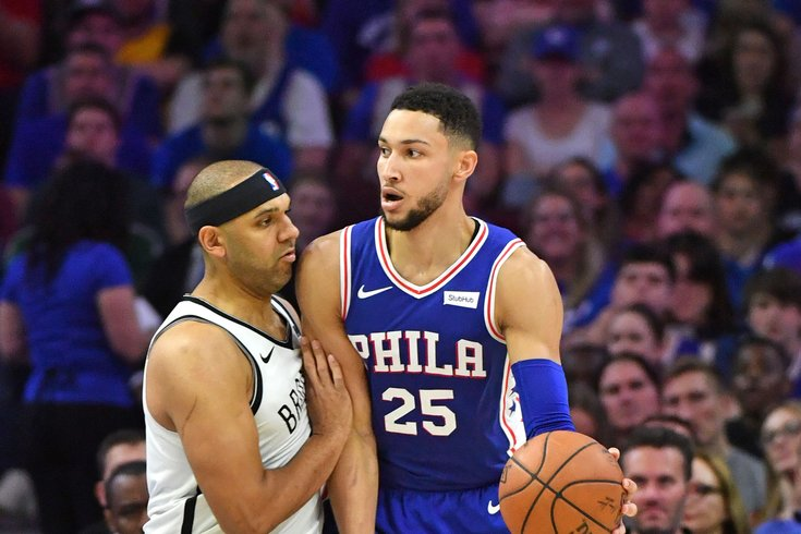 847154a23fd NBA Playoffs  Jared Dudley says he shouldn t have called Ben Simmons ...