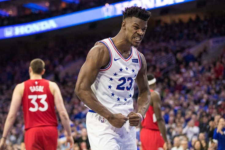 cf8f61e6d59 Five star review  Sixers got little from stars outside of Jimmy ...