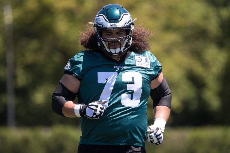 f2214059 Eagles training camp practice notes, Day 10: More work in the red ...