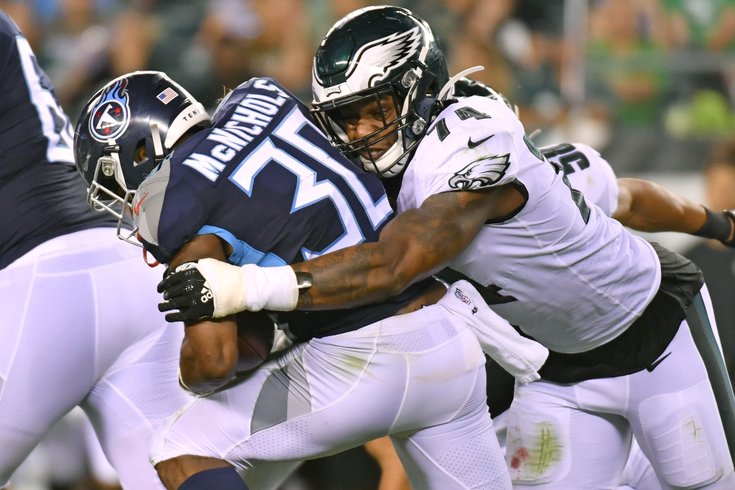 best service 90b60 4559e Daeshon Hall ready to fight for Eagles last roster spot with ...