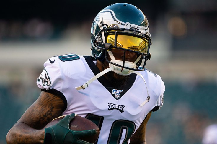 lowest price cd6d0 1f471 Eagles injury updates: The latest on DeSean Jackson, Alshon ...