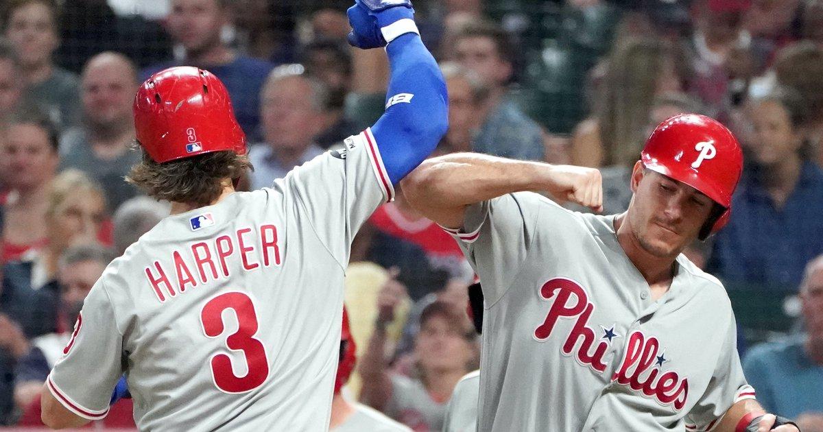 Carson Wentz Philadelphia Phillies Baseball Player Jersey