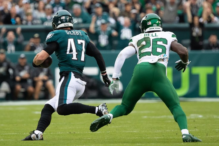 First half observations: Eagles 21, Jets 0 | PhillyVoice