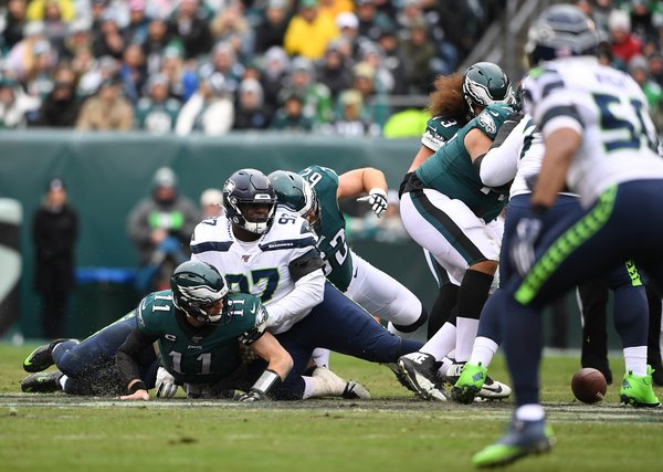 NFL Seattle Seahawks schwarz Majestic JOEL Tank Top S