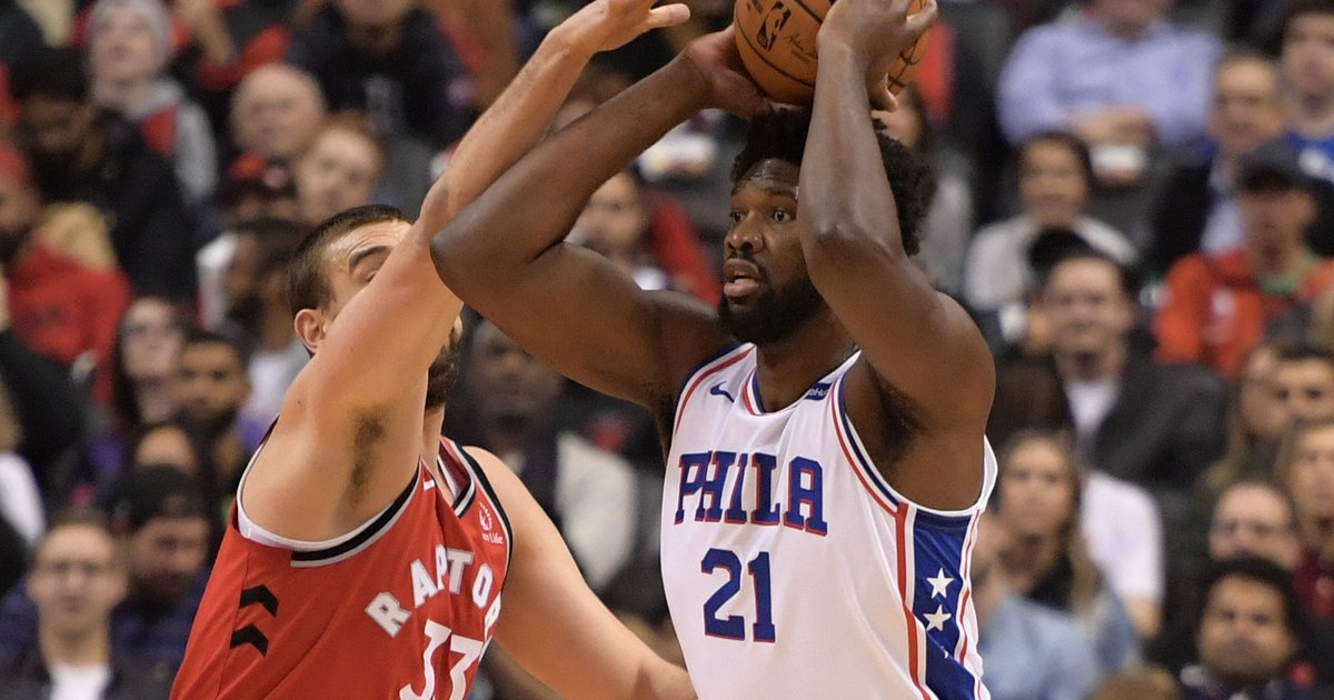 Instant observations: Joel Embiid scores 0 points in Sixers' road loss to Raptors - PhillyVoice.com
