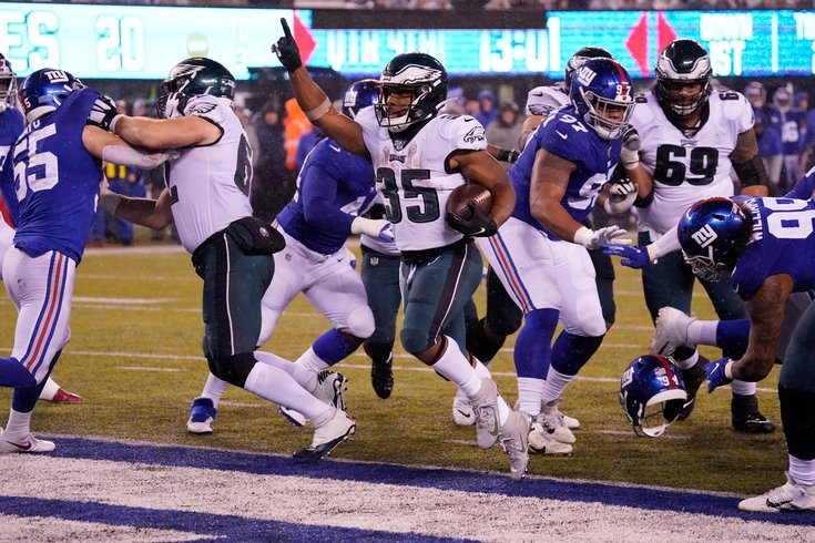 Image result for eagles giants week 17
