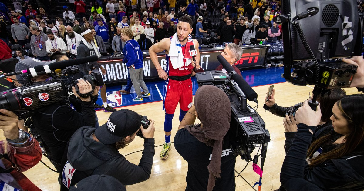 The Sixers asked Ben Simmons to do everything to beat L.A., and he delivered