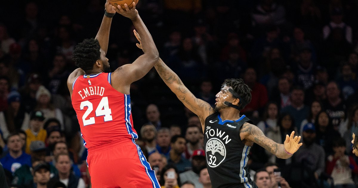 Instant observations: Sixers easily dispose of Warriors in Joel Embiid's return