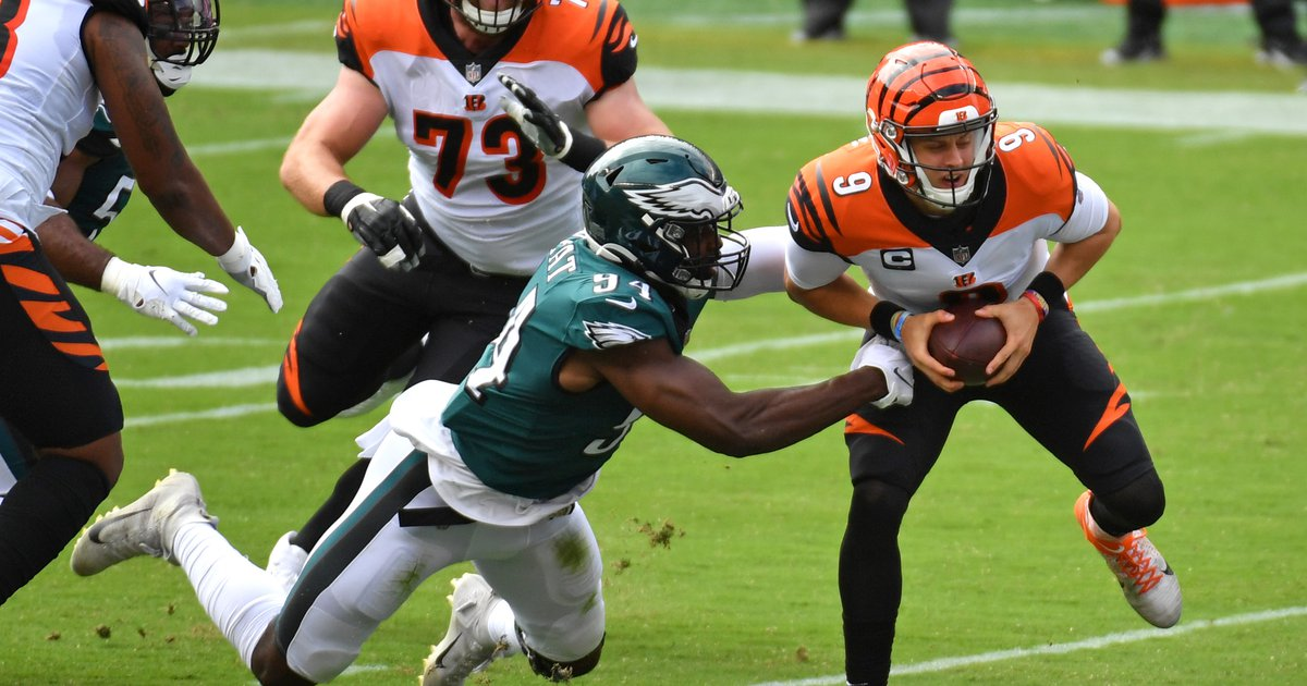 Eagles snap count analysis: Week 3 vs. Bengals